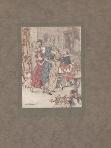 'A Flushed and Boisterous Group', 1915 by Arthur Rackham