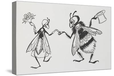 A Fly and Bee Getting Married