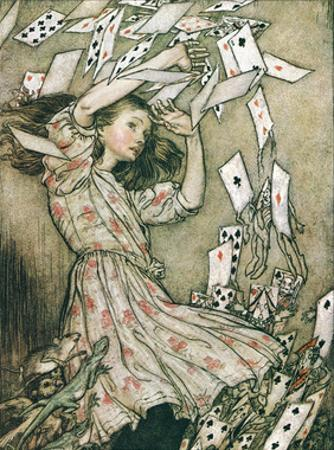 Alice & Pack of Cards