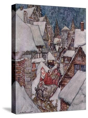 Christmas Illustrations, from 'The Night Before Christmas' by Clement C. Moore, 1931
