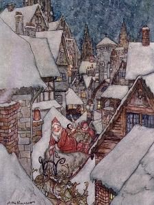 Christmas Illustrations, from 'The Night Before Christmas' by Clement C. Moore, 1931 by Arthur Rackham