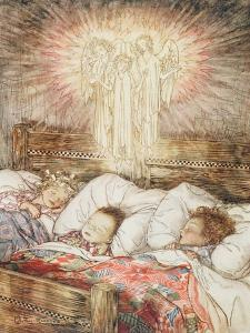 Christmas Illustrations, from 'The Night Before Christmas' by Clement Clarke Moore, 1931 by Arthur Rackham