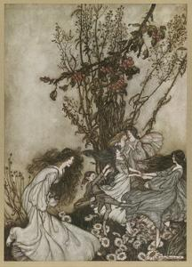 Dancing by Arthur Rackham