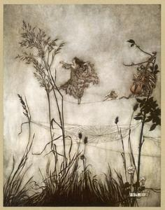 Fairies, Kensington Gdns by Arthur Rackham