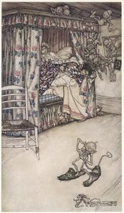 House Plagued by Goblins by Arthur Rackham