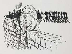 Humpty Dumpty Sat On a Wall by Arthur Rackham