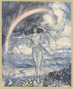 Iris, a Nymph by Arthur Rackham