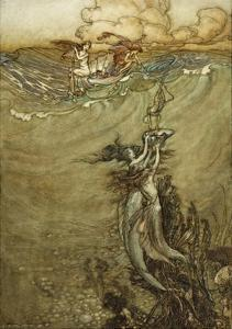 Jewels from the Deep, 1909 by Arthur Rackham