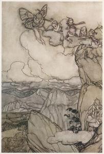 Kaatskill Folk by Arthur Rackham