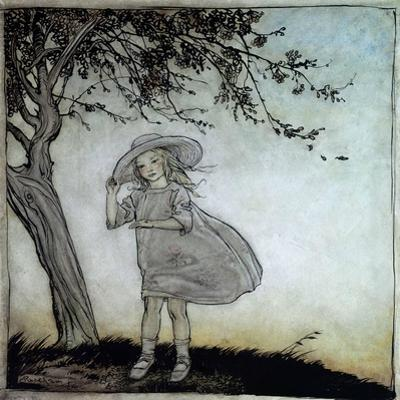 Ladybird, Ladybird Fly Away Home, Illustration from 'Mother Goose, the Old Nursery Rhymes' by Arthur Rackham