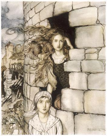 Maid Maleen, Rackham