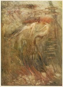 Mermaid by Arthur Rackham