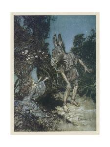 Midsummer Nights Dream by Arthur Rackham