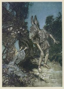 Midsummer Nights Dream by Arthur Rackham