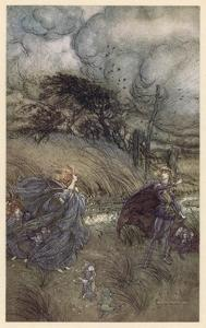 Oberon and Titania by Arthur Rackham