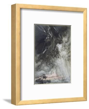Odin, Wotan Rides, Rackham