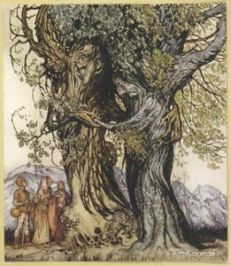 Philemon and Baucis by Arthur Rackham