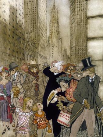 Rackham: City, 1924