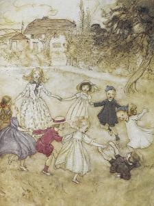 Ring-a-ring-a-roses by Arthur Rackham