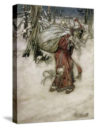 Santa Claus, Illustration from 'Arthur Rackham's Book of Pictures', 1907, Published 1913