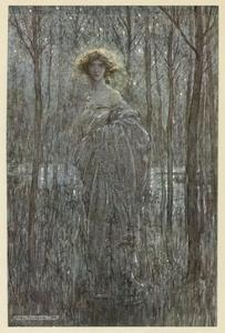 Shakespeare, Helena by Arthur Rackham