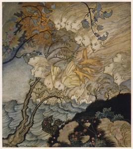 Shakespeare, the Tempest by Arthur Rackham