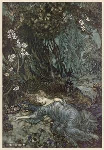 Shakespeare, Titania by Arthur Rackham
