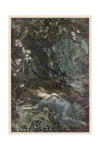 Shakespeare, Titania by Arthur Rackham