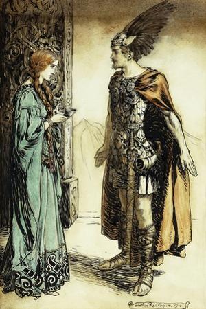 Siegfried Meets Gutrune: The Twilight of the Gods, 1911