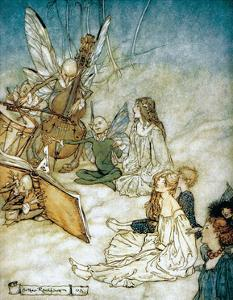 The Fairy Orchestra, 1908 by Arthur Rackham