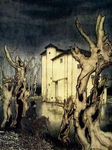 'The Fall of the House of Usher' by Edgar Allan Poe by Arthur Rackham