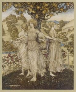 The Hesperides by Arthur Rackham