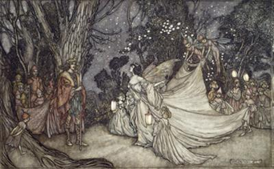 The Meeting of Oberon and Titania