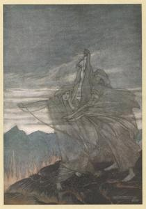 The Norns Vanish by Arthur Rackham
