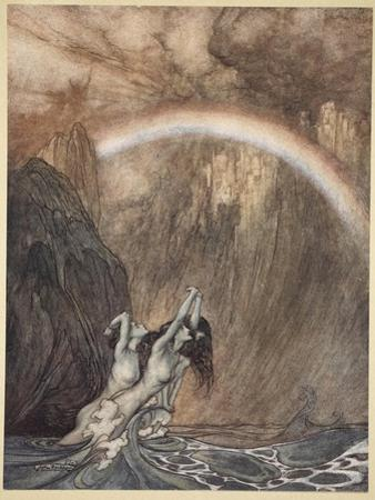The Rhine's pure gleaming children told me of their sorrow, 'The Rhinegold and the Valkyrie'