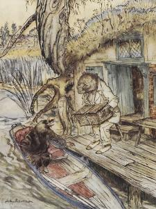 The Wind in the Willows by Arthur Rackham