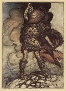 Thor, Rackham 1911 by Arthur Rackham