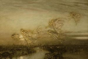 Twilight Dreams, 1913 by Arthur Rackham