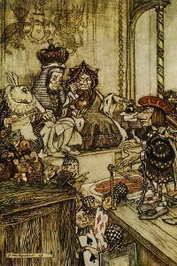 Who Stole The Tarts by Arthur Rackham