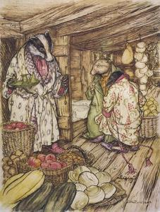 Wind in the Willows by Arthur Rackham