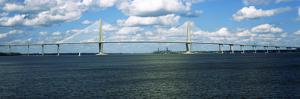 Arthur Ravenel Jr. Bridge across the Cooper River, Charleston, South Carolina, Usa
