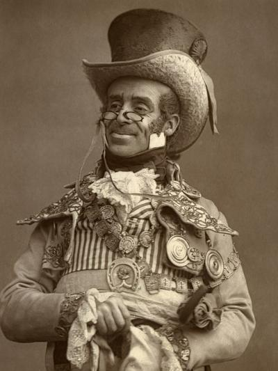 Arthur Roberts, British Actor, Comedian and Music Hall Entertainer, 1888-Ernest Barraud-Photographic Print