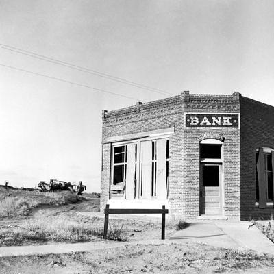 Closed Bank, 1936