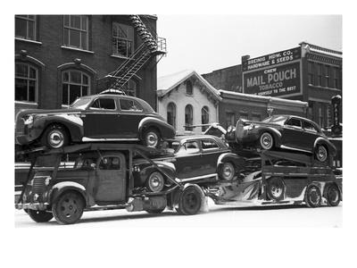 Ohio: Auto Transport, 1940