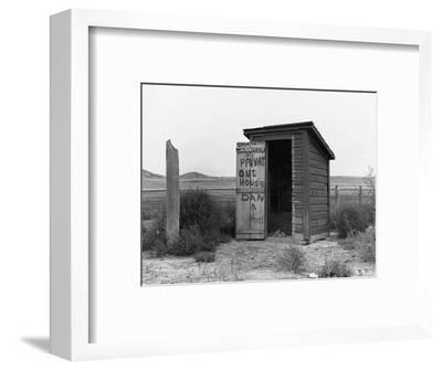 Private Outhouse