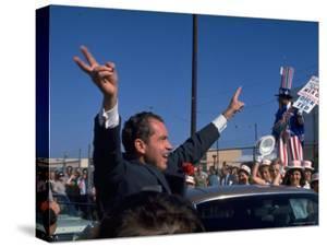 Presidential Nominee Richard Nixon Upon His Arrival in San Diego by Arthur Schatz