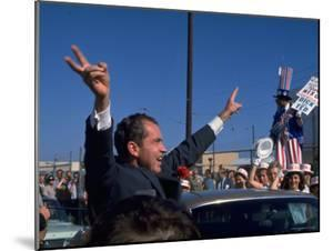 Presidential Nominee Richard Nixon Upon His Arrival in San Diego by Arthur Schatz