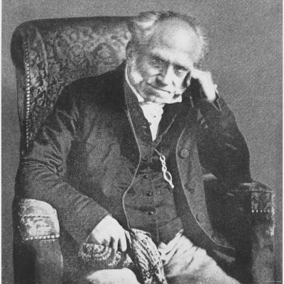 Arthur Schopenhauer, 1854--Photographic Print