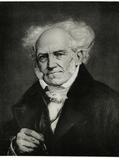 Arthur Schopenhauer, 1884-90--Giclee Print