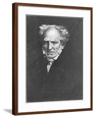 Arthur Schopenhauer-Franz Seraph von Lenbach-Framed Giclee Print